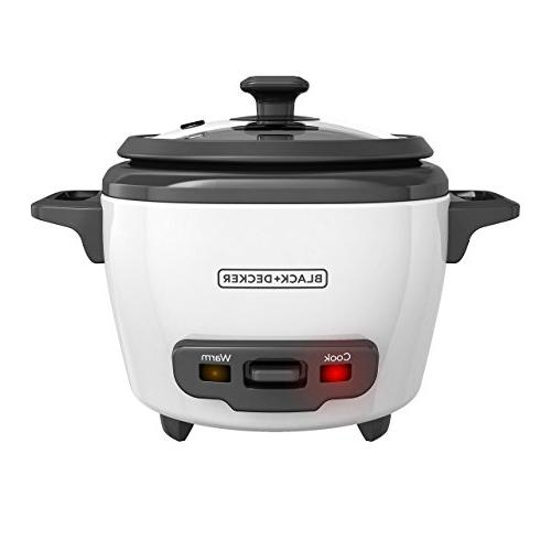 BLACK+DECKER RC503 Rice Cooker 3-cup White