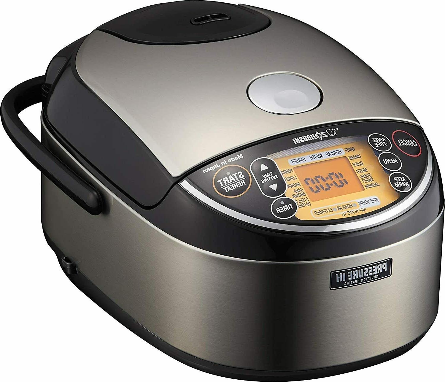 Tiger JAJ-A55U WS 3-Cup  Micom Rice Cooker with Slow Cook, S