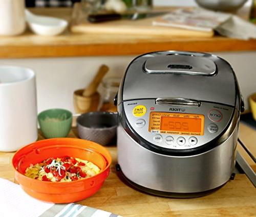 Tiger JKT-S18U Multi Purpose Cooker with Tacook Cooking