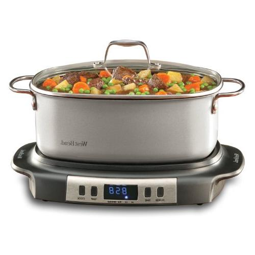West 84966 Oval-Shaped Cooker,