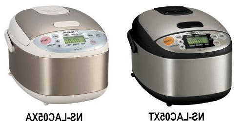 Zojirushi NS-LAC05XT Micom 3-Cup Rice Cooker and Black