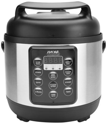 Aroma Housewares APC-816SB Aroma Professional Pressure Cooke
