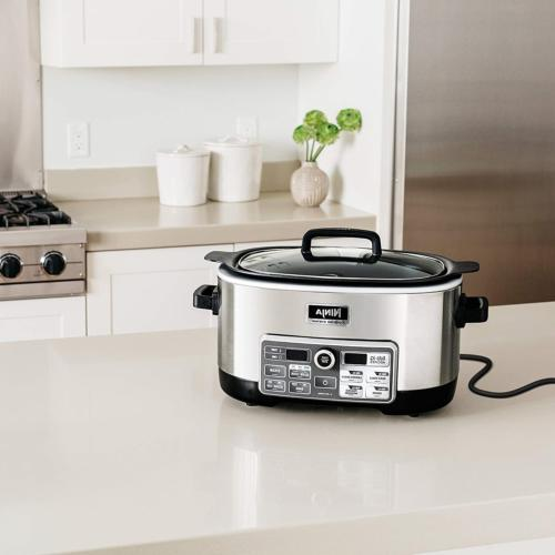 Ninja Cooker with 80-Pre-Programmed for Slow