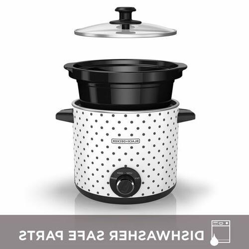BLACK+DECKER Control Cooker Built Holder, 3 Colors