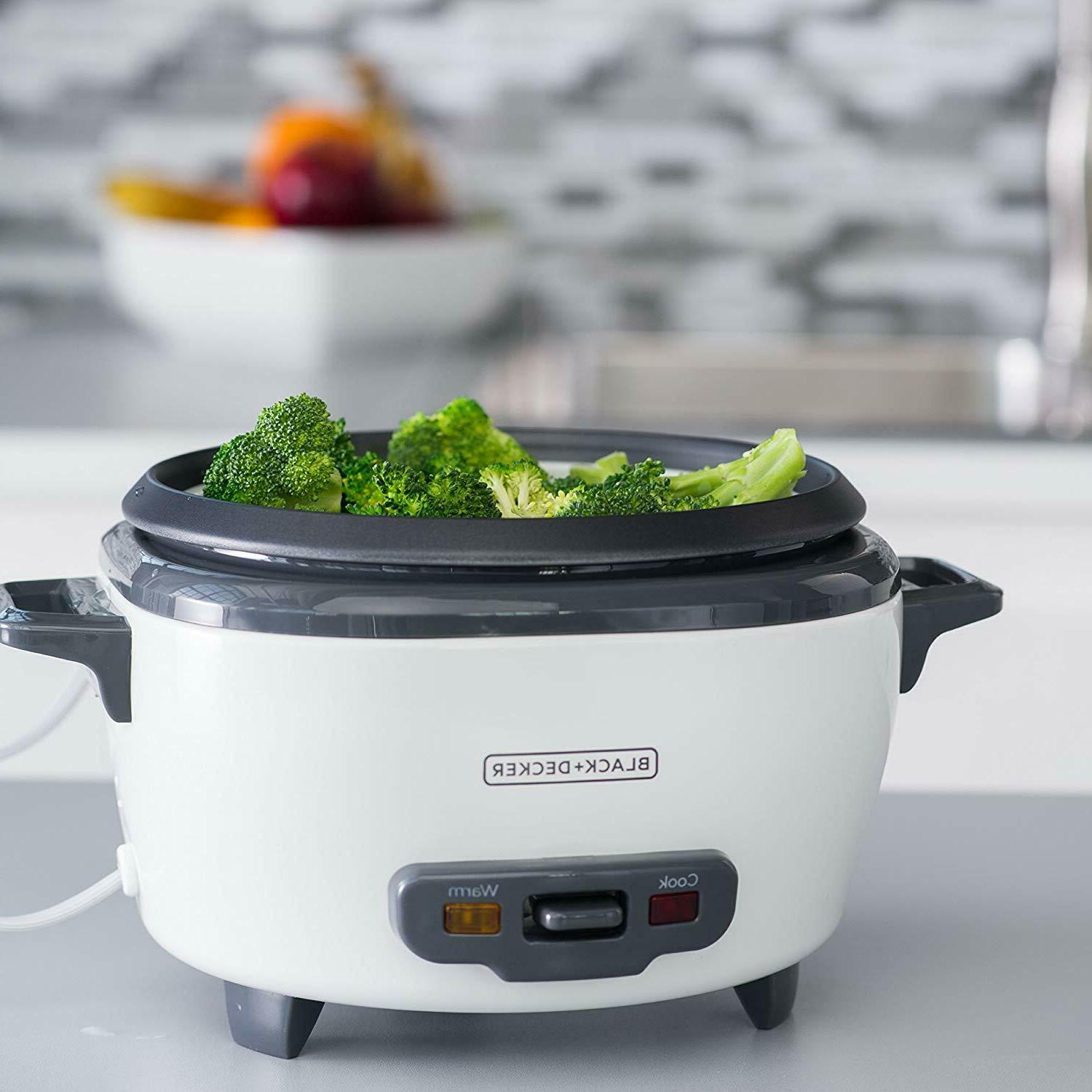 BLACK+DECKER RC506 6-Cup Cooked/3-Cup Uncooked Rice Food