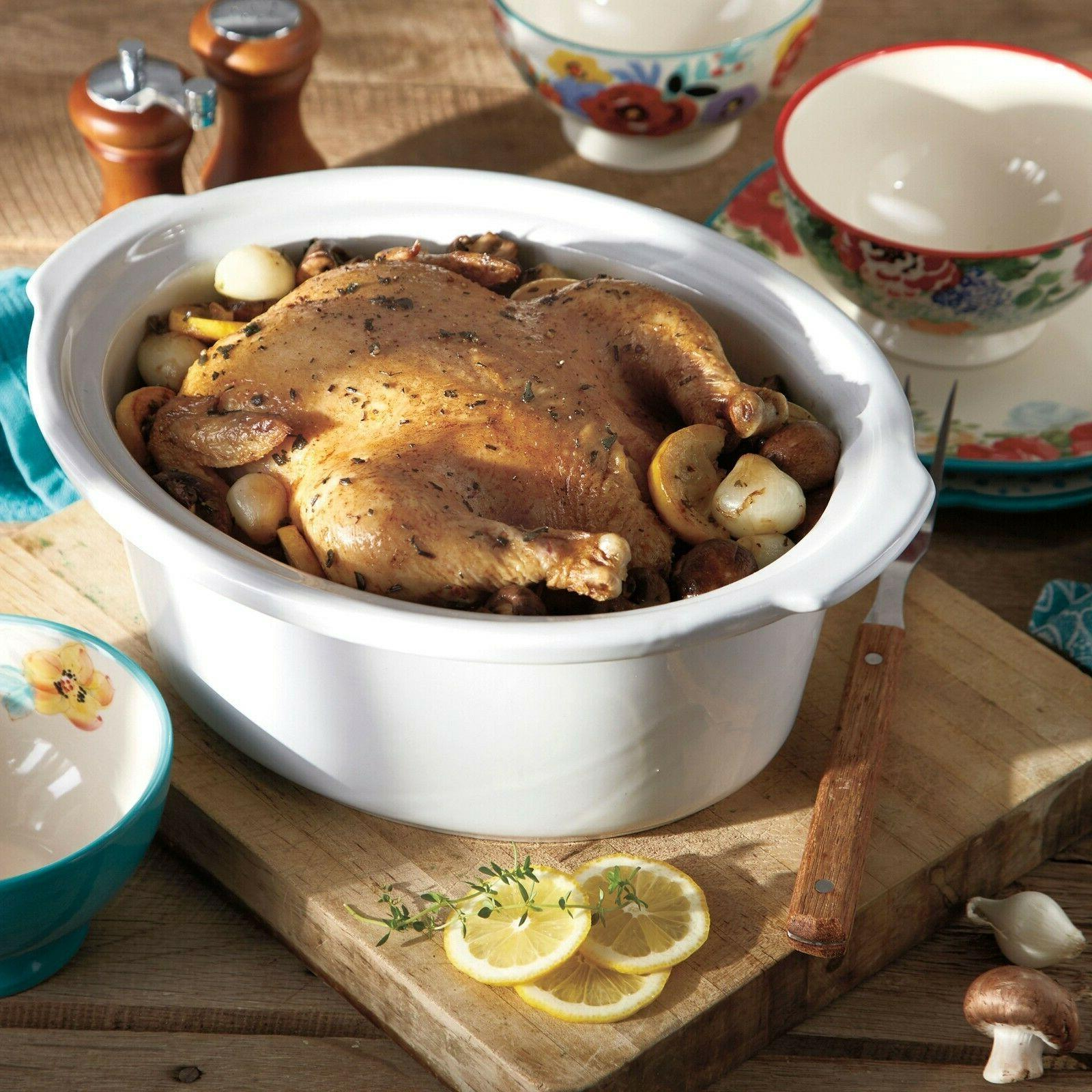 The Classic Charm 7-qt Slow Cooker *FREE SHIPPING*