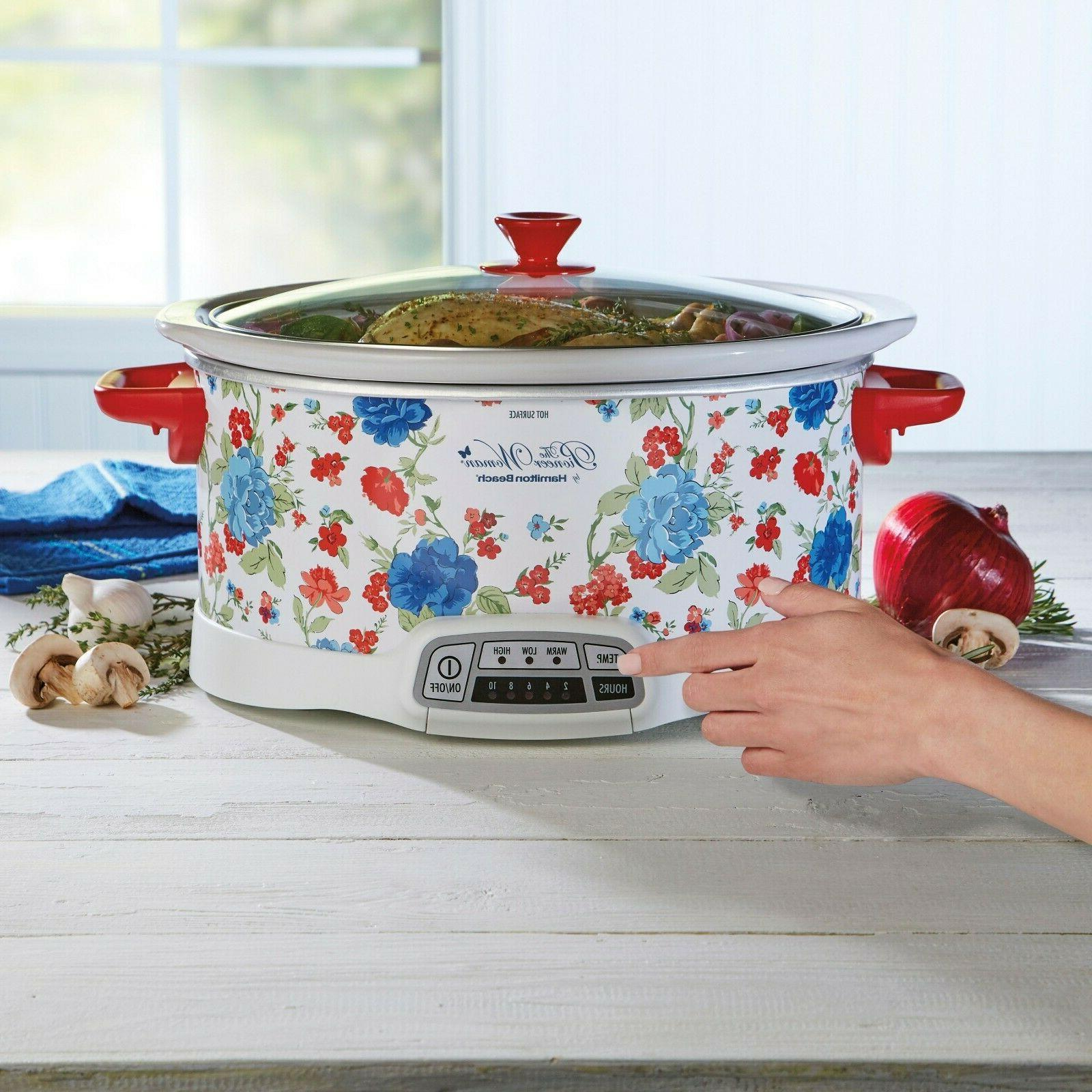 The Pioneer Woman Charm 7-qt Cooker *FREE SHIPPING*