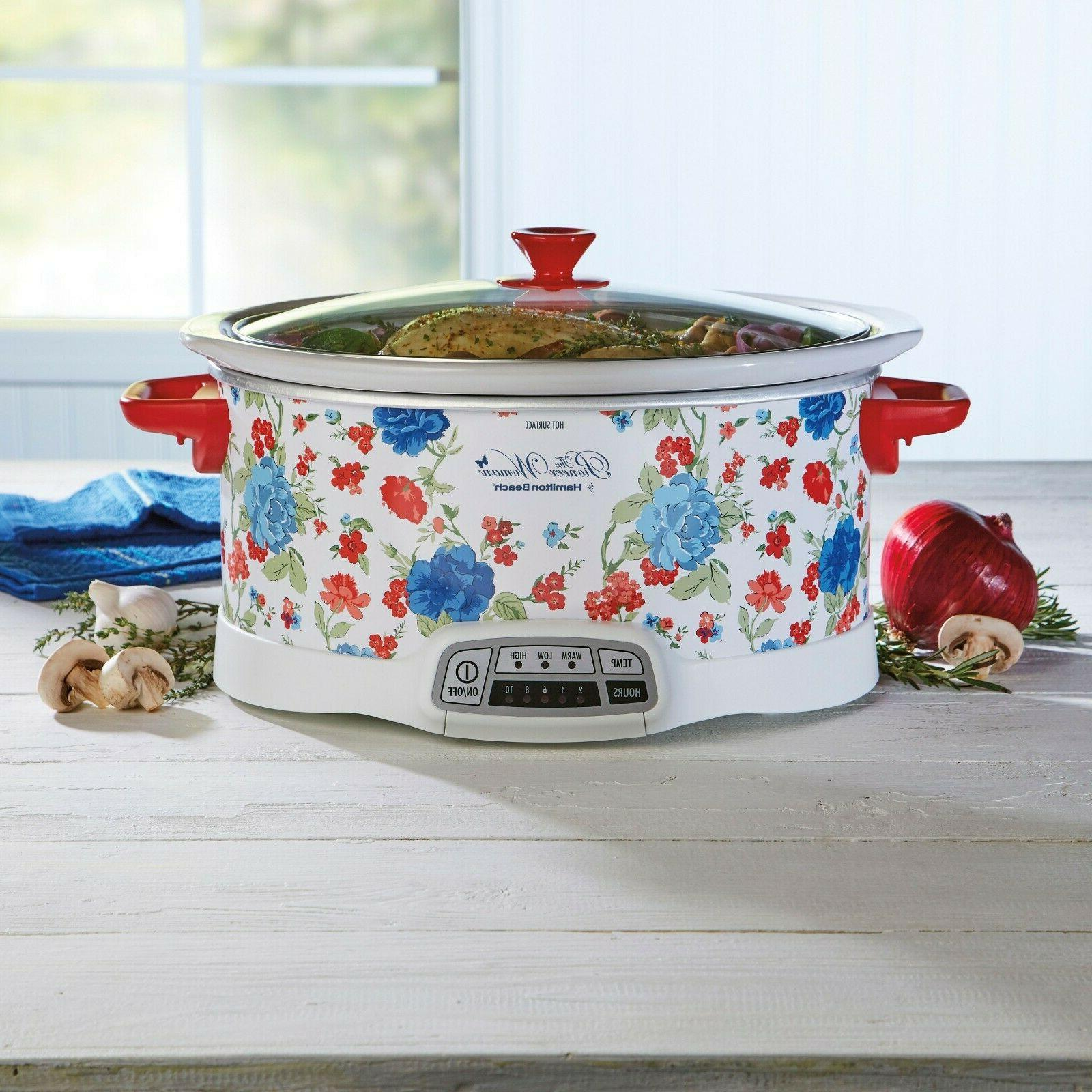 classic charm 7 qt programmable slow cooker