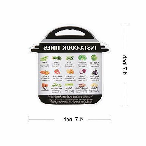 Color-coded silicone 5-quart food quart models 3 packs