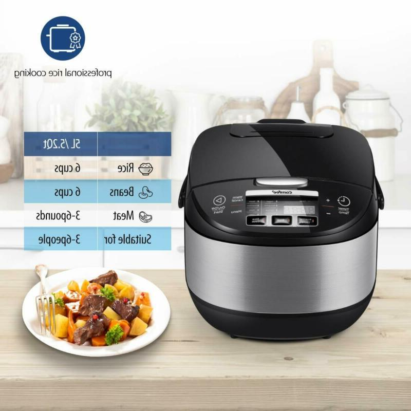 COMFEE' Japanese, 17-in-1 Multi Cooker, Rice Warmer with