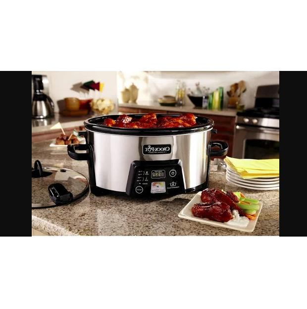Cook and Cooker with Heatsaver Crock-Pot Electronic cookers