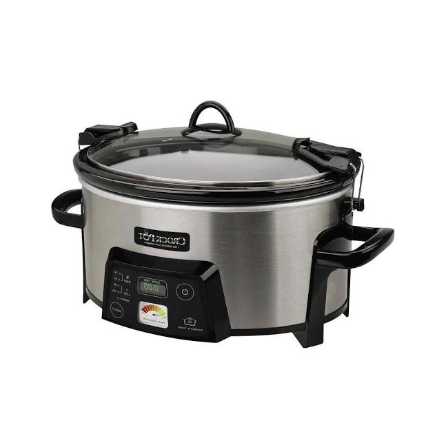 Cook Carry Slow Cooker Stoneware Crock-Pot