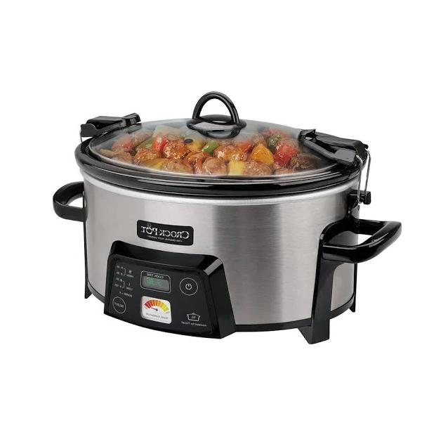 cook and carry slow cooker with heatsaver