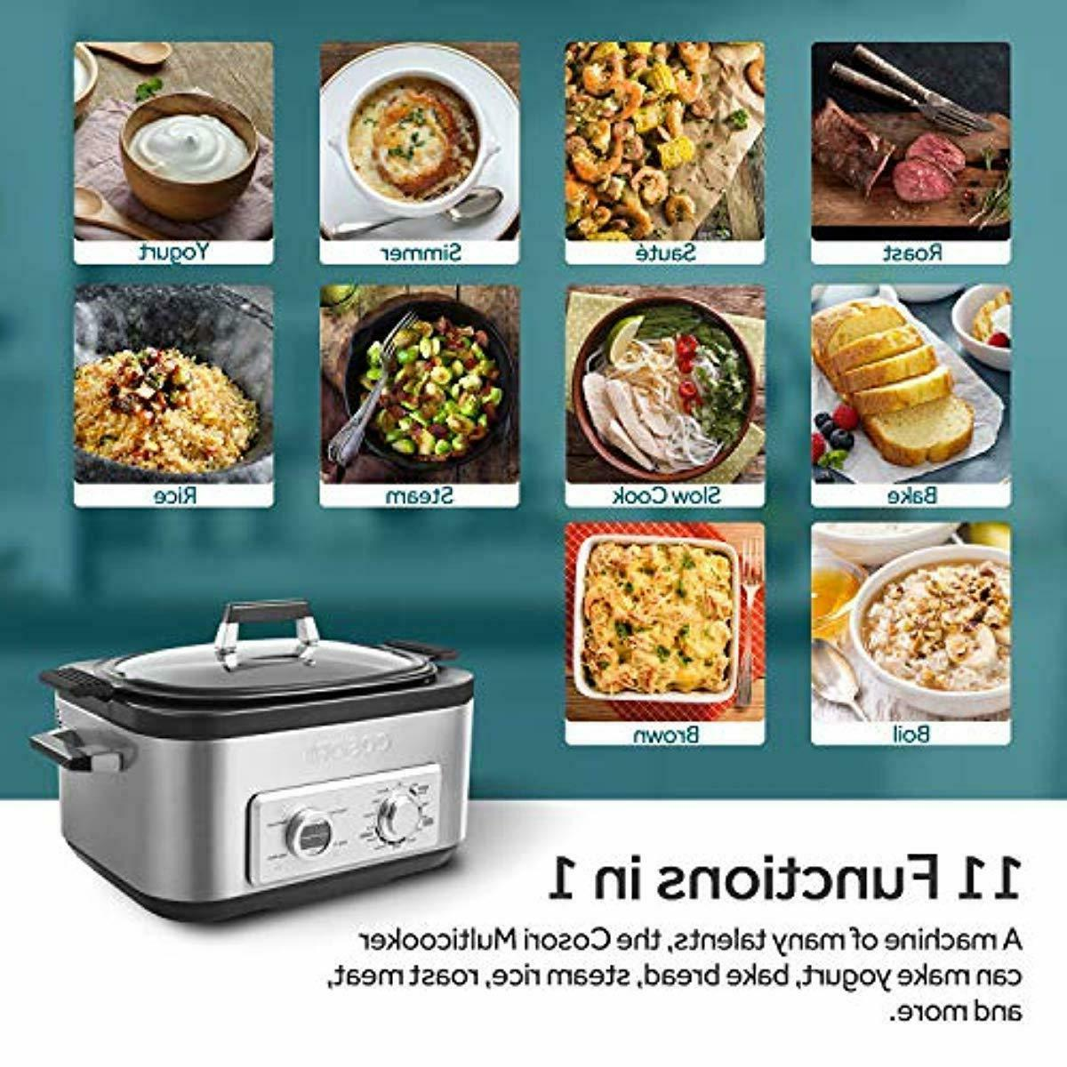 COSORI 11-in-1 Programmable Multi-Cooker Cooker, Cooker,