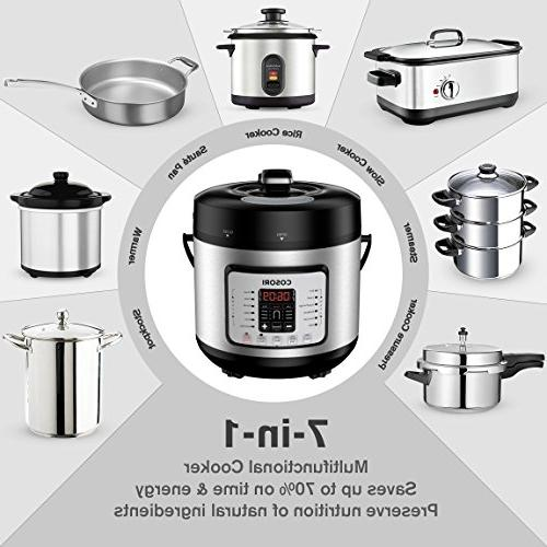 COSORI Cooker, Rice Stainless Steel Pressure