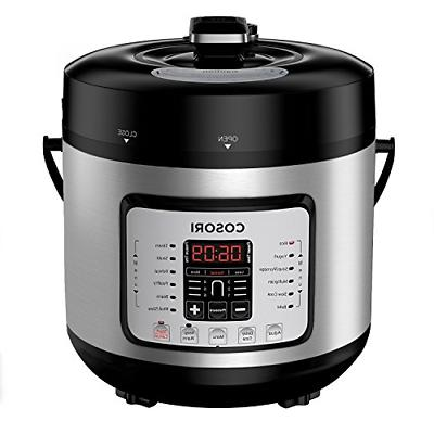 cosori 7 in 1 electric pressure cooker rice stainless steel