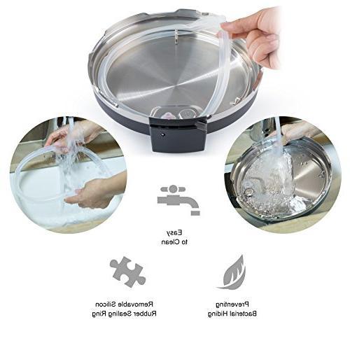 COSORI 7-in-1 Pressure Cooker Steel Inner Pot, 6 Quart