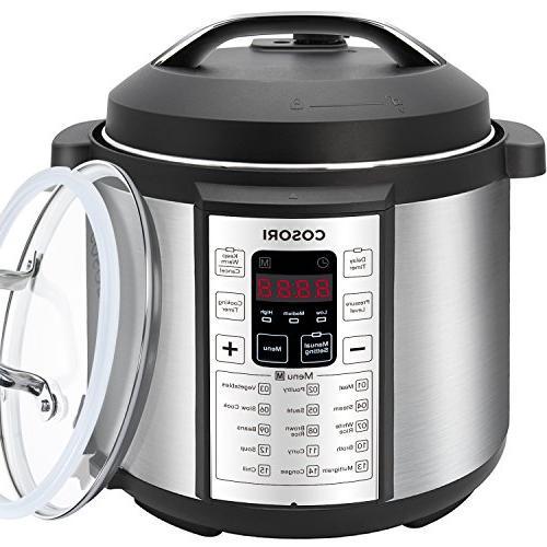 COSORI Pressure Cooker Steel Quart