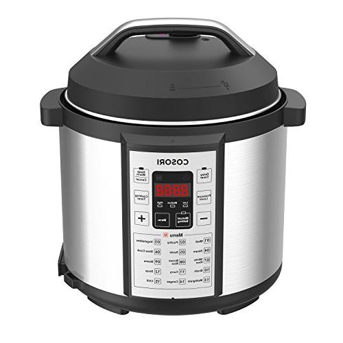 cosori 7 in 1 multifunctional electric pressure cooker stain