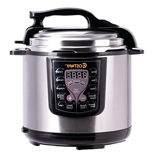 Costway 6-Quart Cooker Watt Steel Kitchen