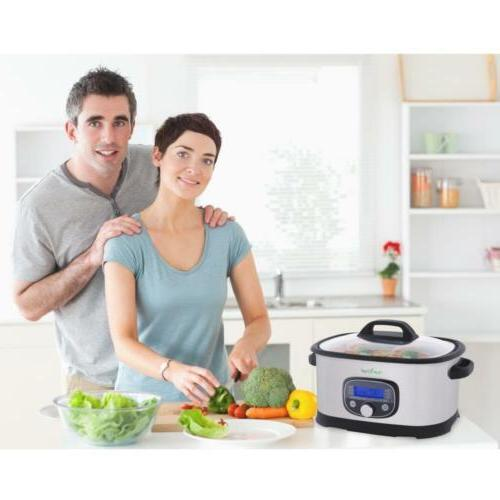 NutriChef Oven Pro Sous Slow with Easy...