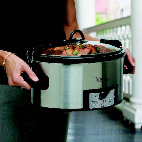 Crock-Pot 6 Qt. Cook & Slow Cooker Stainl
