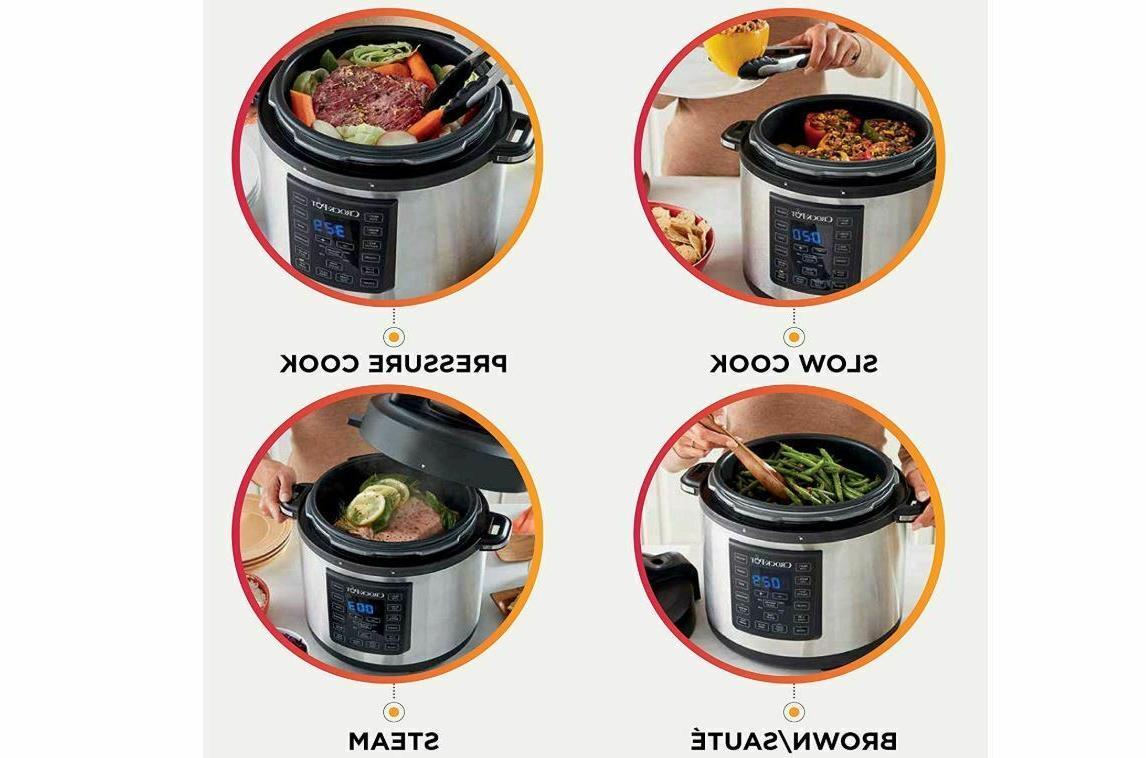 Crock-Pot 6 Crock Stainless Steel -
