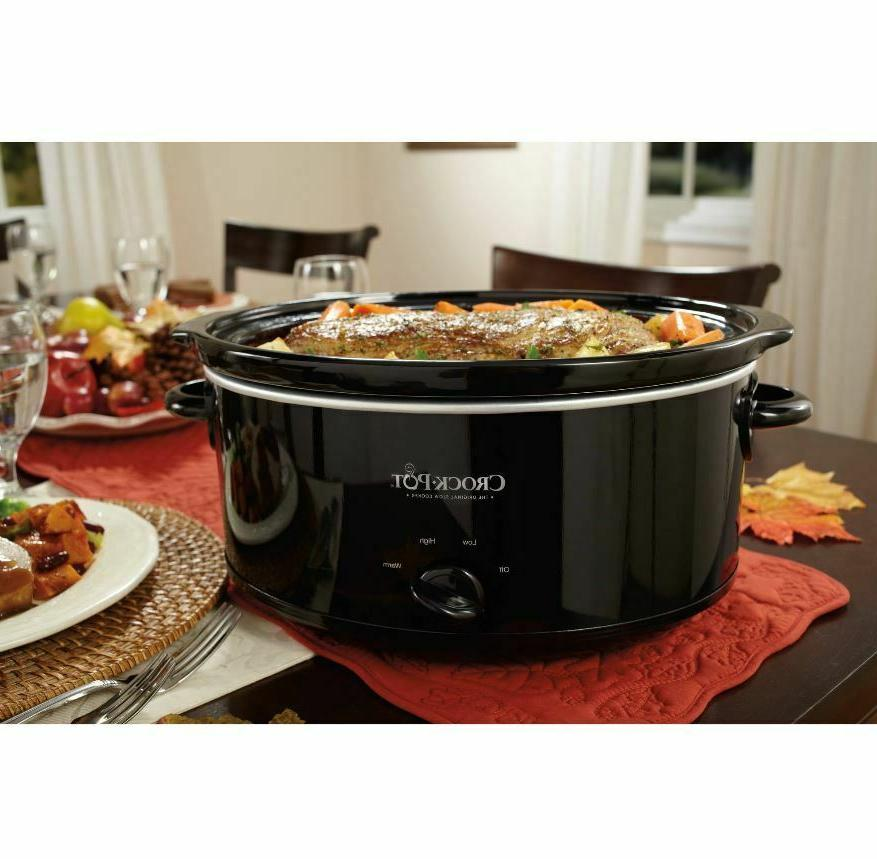 Crock-Pot Carry Manual Stainless Steel