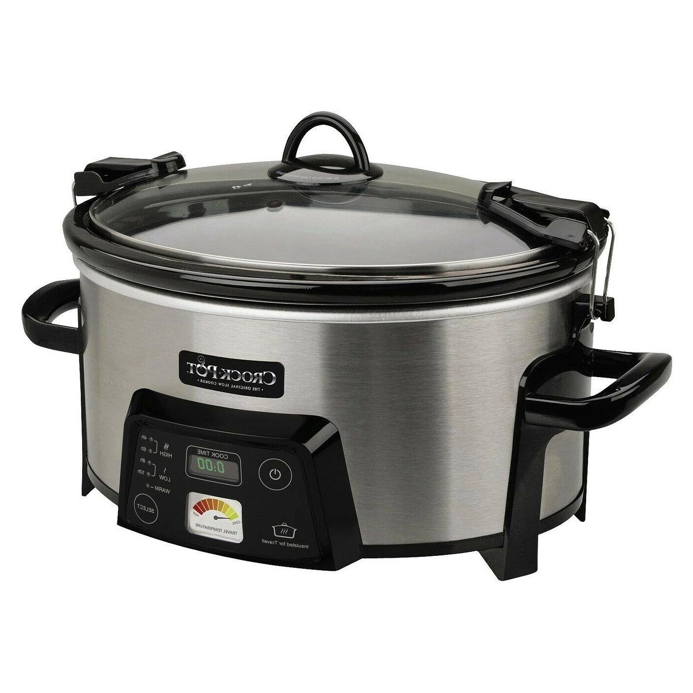 Crock-Pot Cook & Carry Digital Slow Heat St