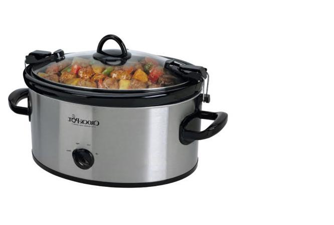 crock pot cook n carry manual portable