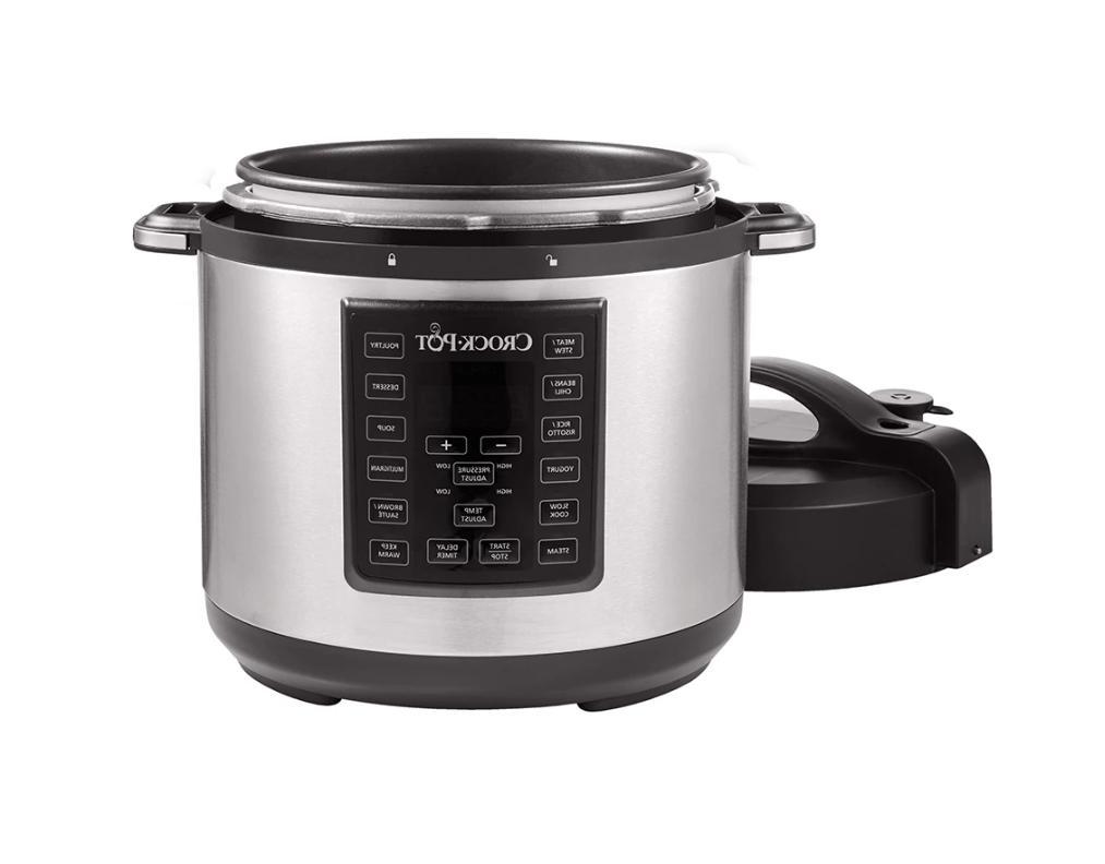 Crock-Pot Pressure Cooker Slow Cooker 8-in-1 Multi-Cooker - St