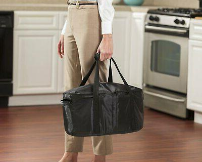Insulated Carrier Travel Bag for Oval 4 8 Quart