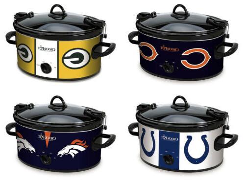 crock pot nfl sccpnfl600 cook and carry