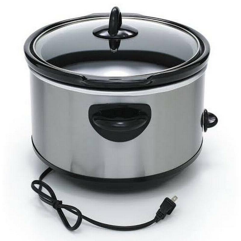 Crock-Pot Cooker, Steel 7