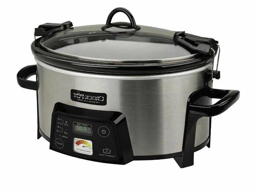 new crock pot programmable cook extra large