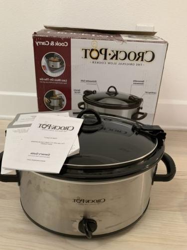 crock pot sccpvl600s cook n carry 6