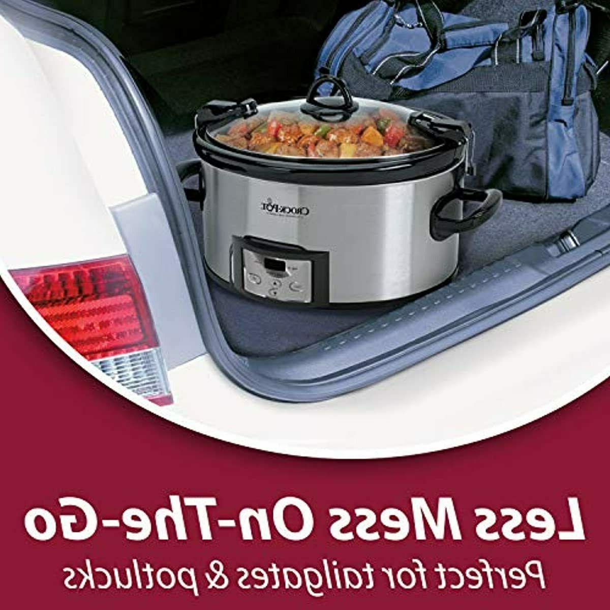 Crock-Pot & Carry Programmable Slow Cooker Digit
