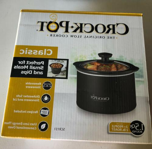crock pot scr151 r 1 5qt crockpot