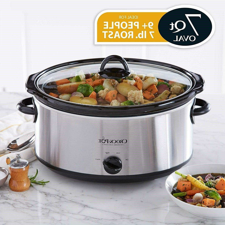 Crock-Pot 7-quart Cooker Quart