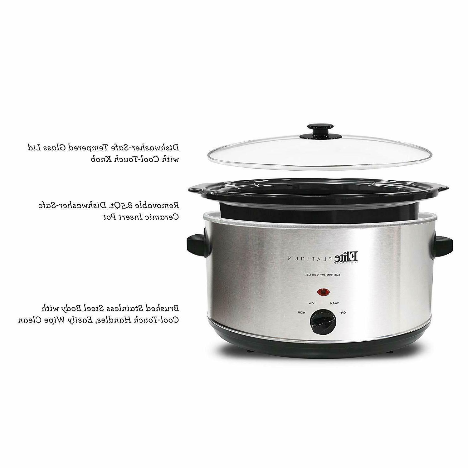 Oval Stainless Steel Manual New