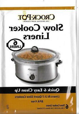 crock pot slow cooker liners 30 liners
