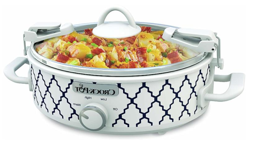crockpot 2 5 quart mini casserole crock