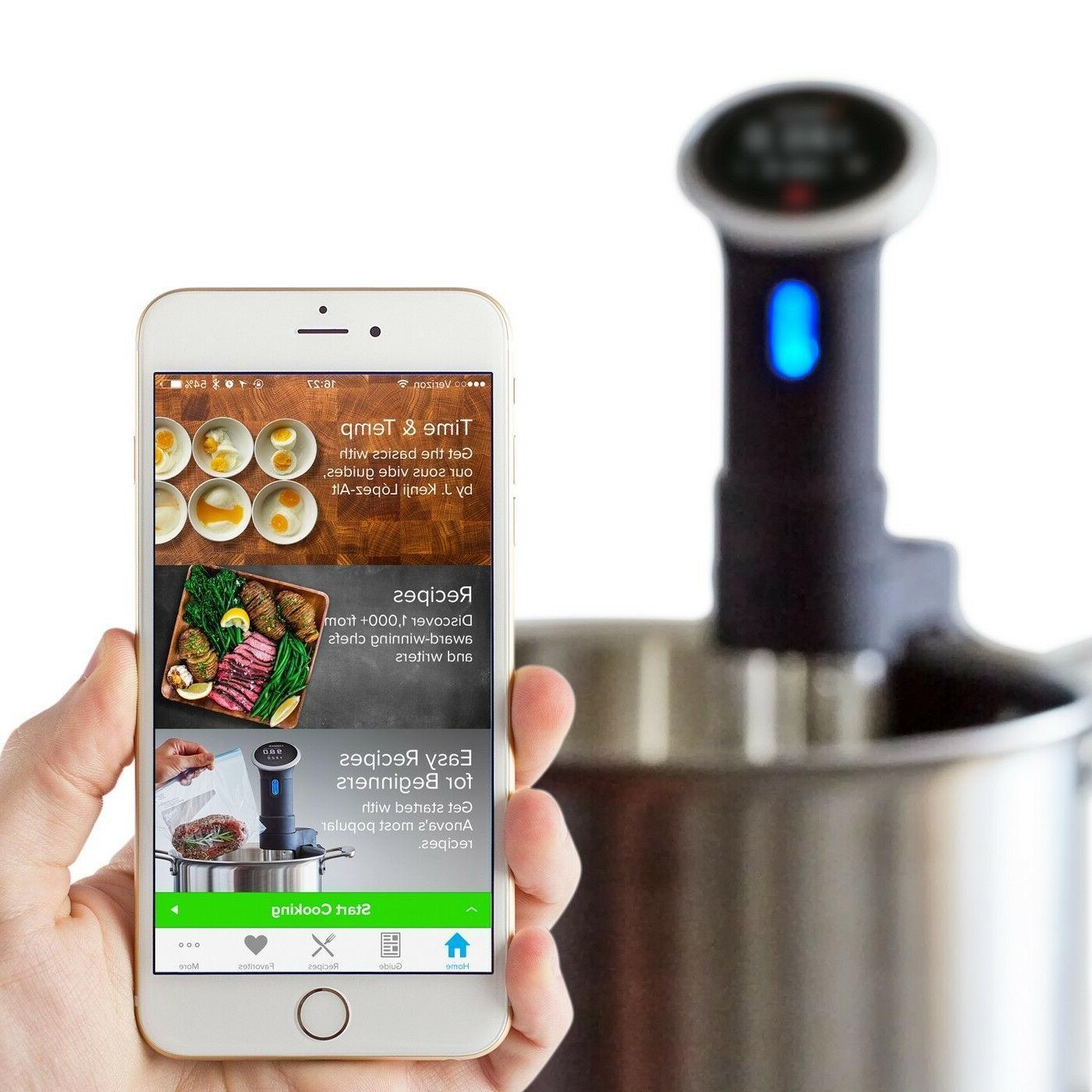 Anova Culinary Sous Vide Precision Cooker Bluetooth Circulator 220V