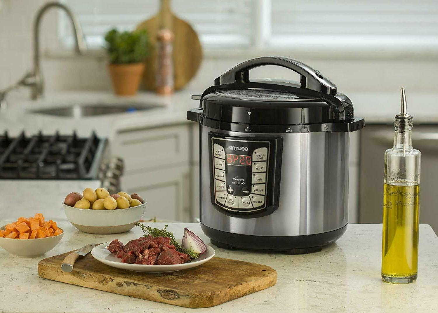 Gourmia 7-in-1 Programmable Cooker Slow