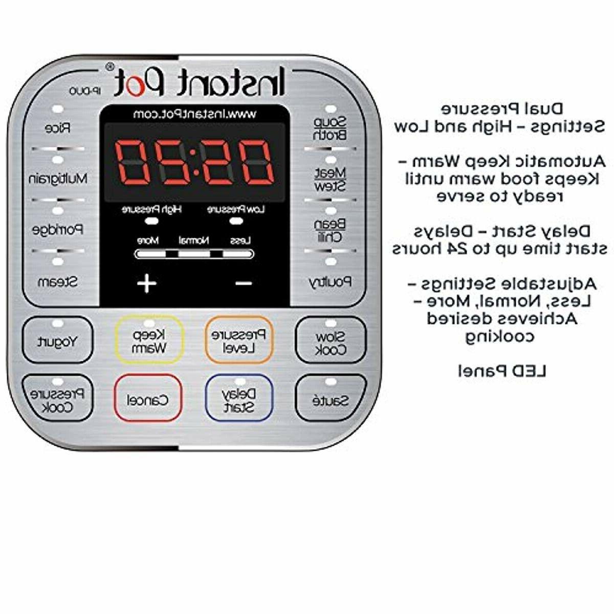 Instant Pot 3-8 Qt 7-in-1 Programmable