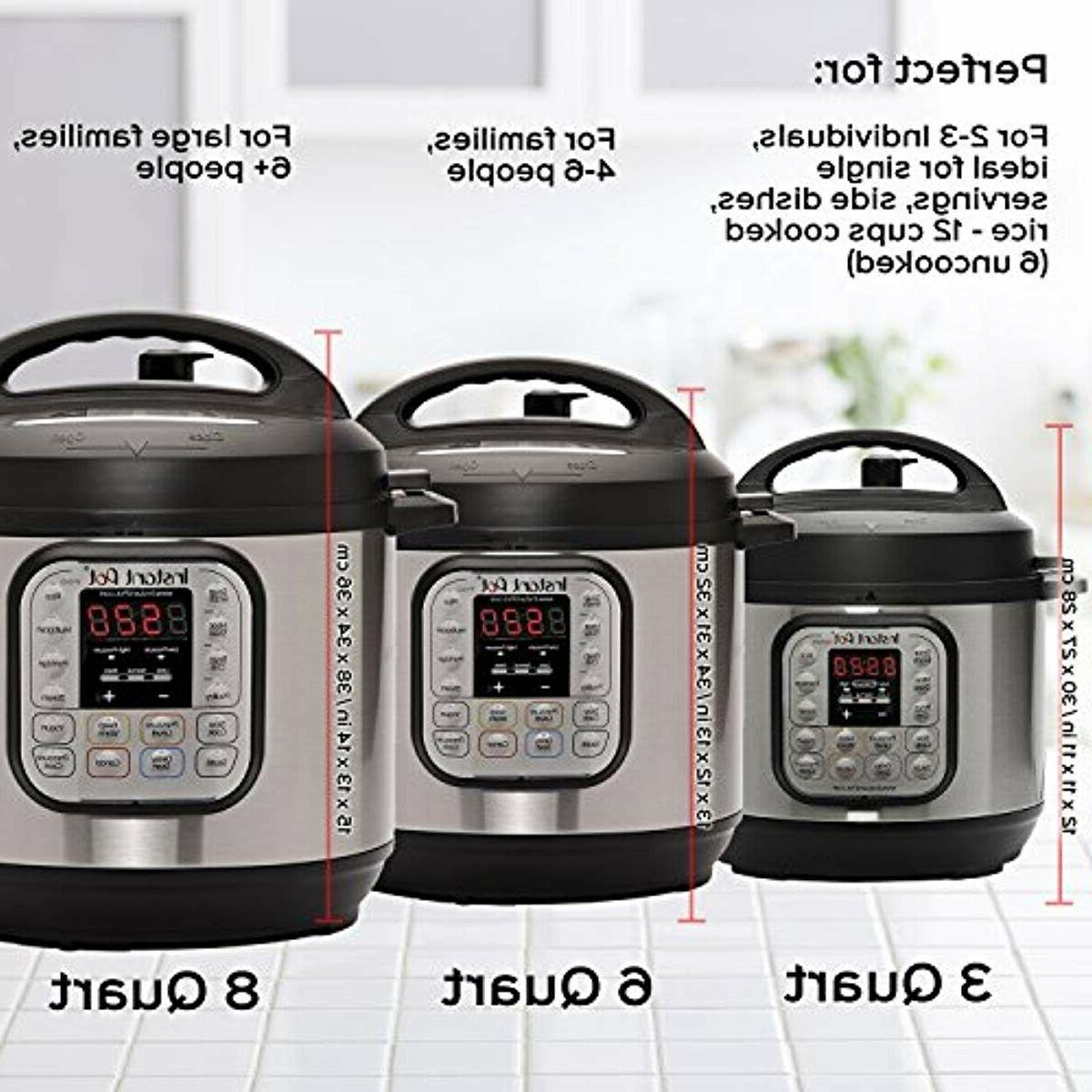 Instant Pot DUO80 3-8 Qt 7-in-1