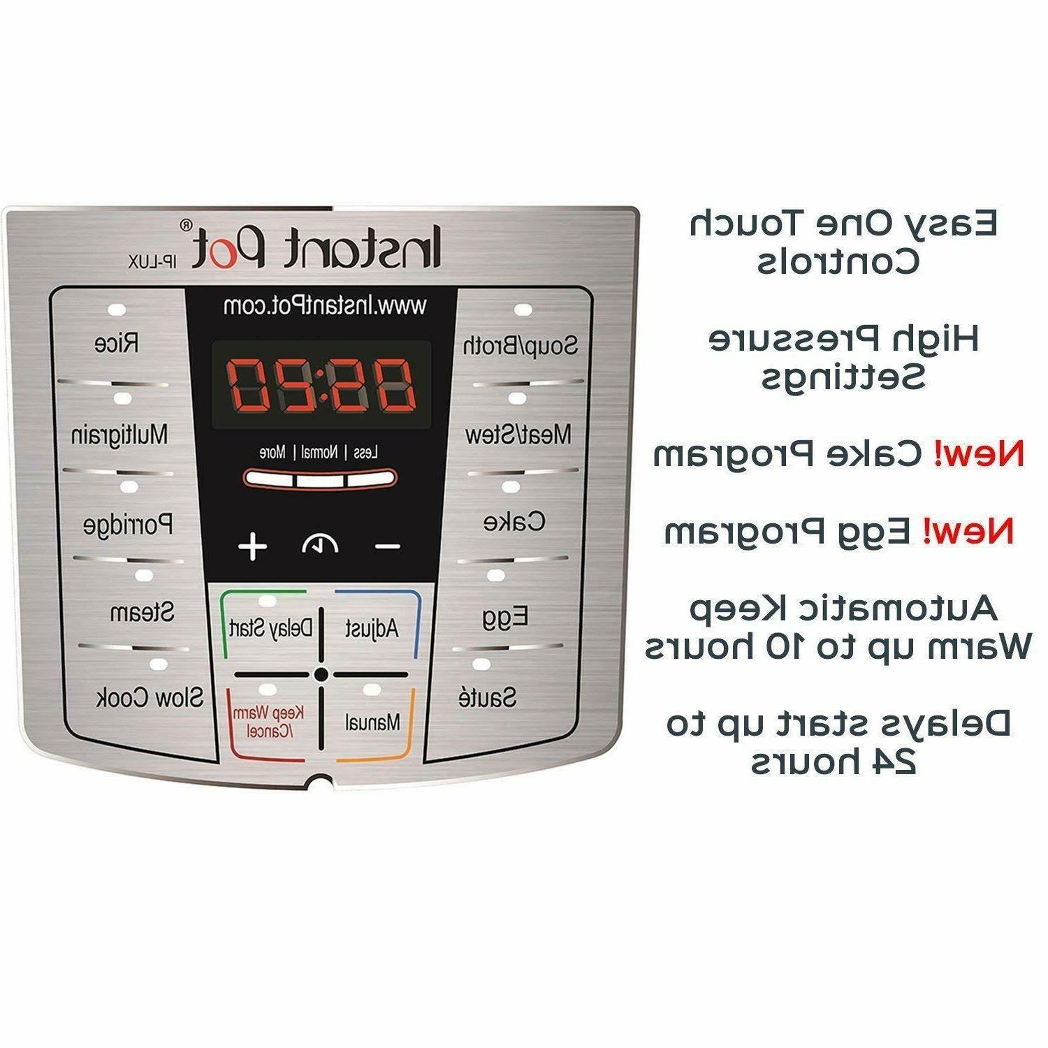 Instant Pot 6 Multi-Use Programmable