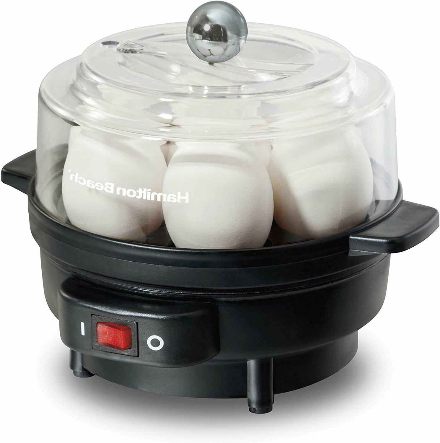 electric egg cooker and poacher for soft