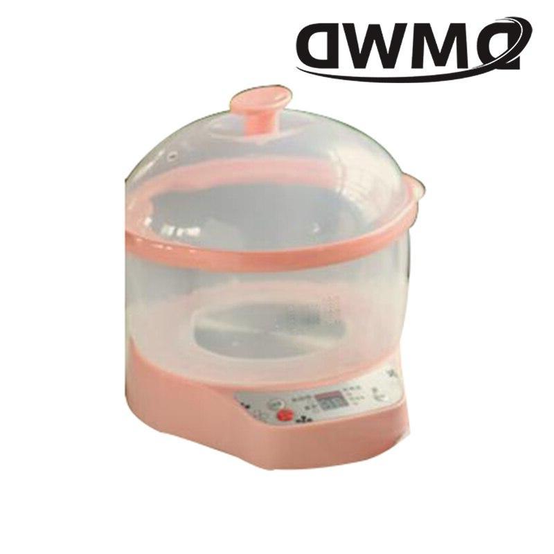 DMWD <font><b>Cooker</b></font> Water Pot Mini Baby Food Porridge Breakfast Soup