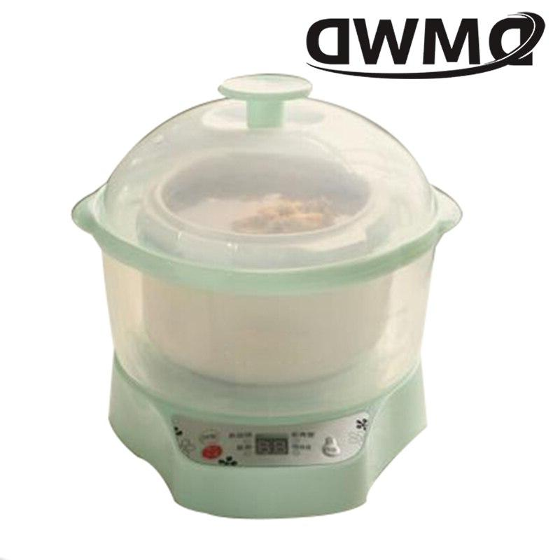 DMWD <font><b>Cooker</b></font> Pot Food Porridge Cooking BirdsNest Soup Boiler Steamer